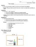 Scientific Method Mentos & Soda Example