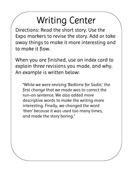Science Writing Center/Revision Writing Center