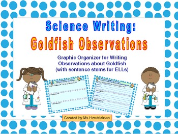 Science Writing: Goldfish Observations