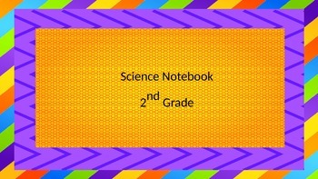 Science Writing Notebook