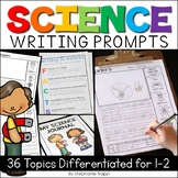 Science Writing Prompts for First and Second Grade