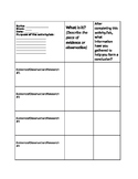 Science Writing Template