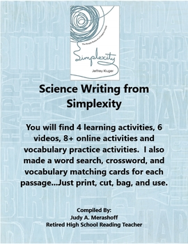 Science Writing from Simplexity