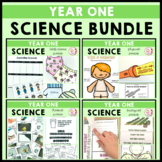 Year 1 Science Bundle Biological Chemical Earth Space Physical