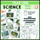 Science Year 1 Chemical Sciences Australian Curriculum