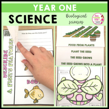 Science Year 1 Part 1 Biological Sciences animals, plants and habitats