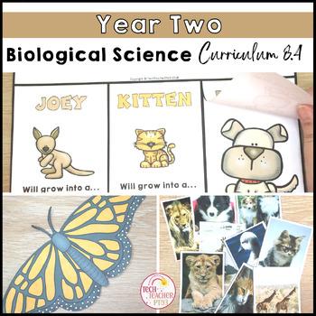 Science Year 2 Australian Curriculum Biological Sciences Activities