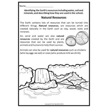 Science Year 2 Earth Sciences Activities Australian Curriculum