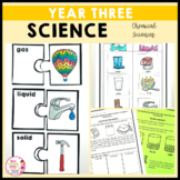 Science Year 3 Chemical Sciences Activities Australian Curriculum