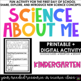 Science About Me | Science For Kindergarten | Distance Lea