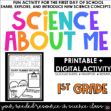 Science About Me | Science For First Grade | Distance Lear