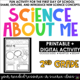 Science About Me | Science For Second Grade | Distance Lea