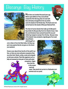 Science and Art -Habitats: Life in the Coral Reef - Biscayne National Park
