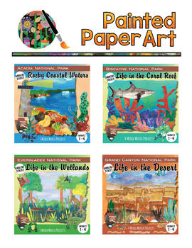 Art Lessons: Bundled Pack #3 Science and Art: Habitats