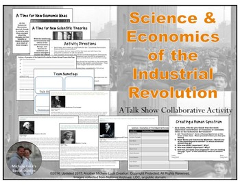 Science and Economics of the Industrial Revoution Talk Show Activity