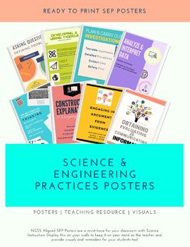Science and Engineering Practices (SEP) Posters
