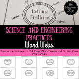 NGSS: Science and Engineering Practices Word Webs