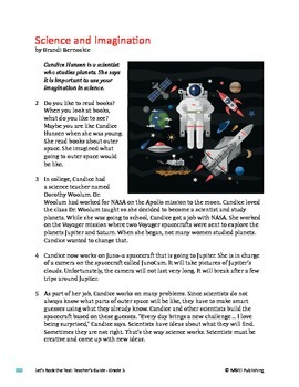 Science and Imagination - Informational Text Test Prep
