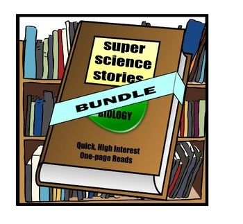 Science and Literacy - Biology BUNDLE