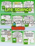 Life Science Bundle: Science and Literacy (9 Lesson Sets) (TEKS & NGSS)