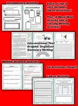 Science and Literacy: Physical Science Bundle (STAAR)