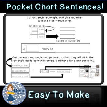 Science Sentence Builders Pocket Chart Bundle