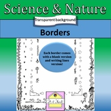 Science and Nature Page Borders