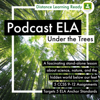 Science and Nature Podcast FASCINATING 5 Assignments - Target 5 ELA CCSS Strand