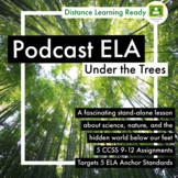 Science & Nature Podcast FASCINATING 5 Assignments  5 CCSS Distance Learning