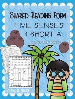 Integrated Science (Five Senses) & Short Vowel A - Poem & Mini Unit