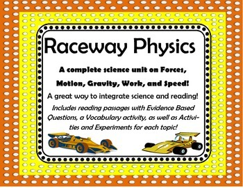 Science and Reading Packet for Forces and Motion Unit