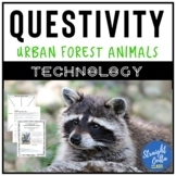 Science and Reading Urban Forest Animals Questivity