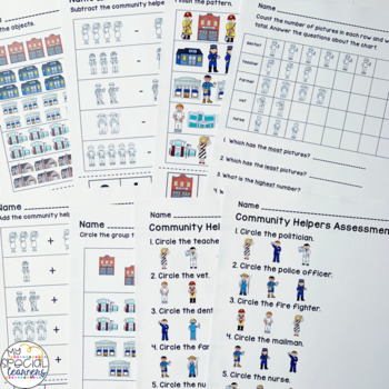 Science and Social Studies Activities for Special Education BUNDLE