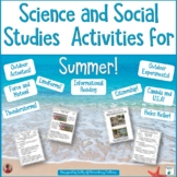 Science Experiments and Hands-On Social Studies Activities
