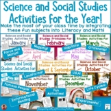 Science and Social Studies Activities, Printables and Work