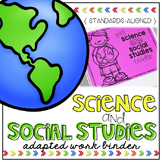 Science and Social Studies Adapted Work Binder® (for Speci