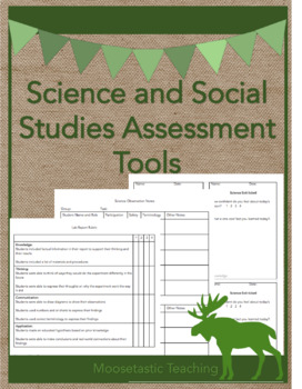 Science and Social Studies Assessment Tools