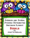 Science and Social Studies Integrated Sentence Fluency Bundle