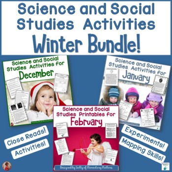 Winter Science and Social Studies Printables