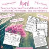 April Printables for Science and Social Studies