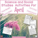 April Activities Worksheets and Printables for Science and
