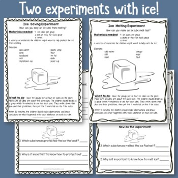 January Science and Social Studies Activities
