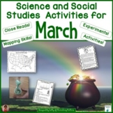 Science and Social Studies Activities for March