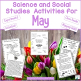 May Science and Social Studies Printables