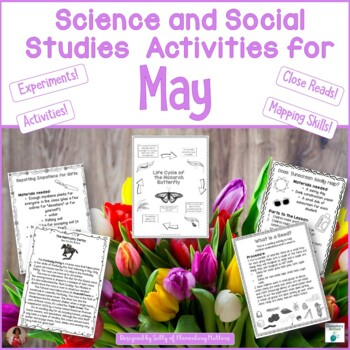 May Science and Social Studies Printables