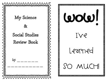 Science and Social Studies Review Booklet