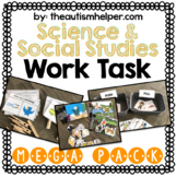 Science and Social Studies Work Task Mega Pack