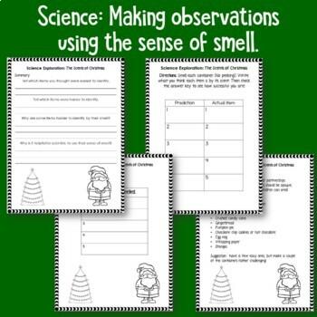 December Social Studies and Science Activities