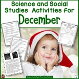 December Science and Social Studies Activities