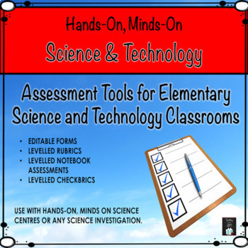ONTARIO Science and Technology  Assessment Toolbox {EDITABLE PDF}